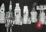 Image of architects dressed as buildings New York United States USA, 1931, second 32 stock footage video 65675023621