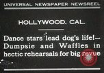 Image of dogs perform in revue Hollywood California USA, 1931, second 1 stock footage video 65675023622