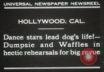 Image of dogs perform in revue Hollywood California USA, 1931, second 2 stock footage video 65675023622