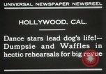Image of dogs perform in revue Hollywood California USA, 1931, second 3 stock footage video 65675023622