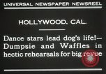 Image of dogs perform in revue Hollywood California USA, 1931, second 4 stock footage video 65675023622