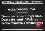 Image of dogs perform in revue Hollywood California USA, 1931, second 5 stock footage video 65675023622