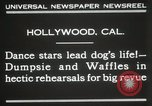 Image of dogs perform in revue Hollywood California USA, 1931, second 6 stock footage video 65675023622