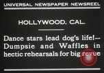 Image of dogs perform in revue Hollywood California USA, 1931, second 7 stock footage video 65675023622