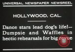 Image of dogs perform in revue Hollywood California USA, 1931, second 8 stock footage video 65675023622