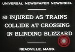 Image of train collision Readville Massachusetts USA, 1931, second 4 stock footage video 65675023623