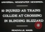 Image of train collision Readville Massachusetts USA, 1931, second 5 stock footage video 65675023623