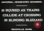 Image of train collision Readville Massachusetts USA, 1931, second 6 stock footage video 65675023623