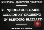 Image of train collision Readville Massachusetts USA, 1931, second 7 stock footage video 65675023623