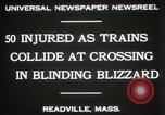Image of train collision Readville Massachusetts USA, 1931, second 8 stock footage video 65675023623