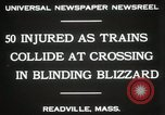 Image of train collision Readville Massachusetts USA, 1931, second 9 stock footage video 65675023623