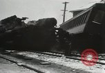 Image of train collision Readville Massachusetts USA, 1931, second 12 stock footage video 65675023623