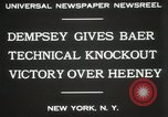 Image of Baer-Heeney boxing match New York City USA, 1931, second 2 stock footage video 65675023626