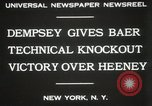 Image of Baer-Heeney boxing match New York City USA, 1931, second 5 stock footage video 65675023626