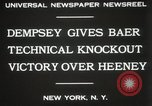Image of Baer-Heeney boxing match New York City USA, 1931, second 6 stock footage video 65675023626
