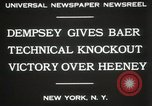 Image of Baer-Heeney boxing match New York City USA, 1931, second 7 stock footage video 65675023626