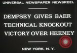 Image of Baer-Heeney boxing match New York City USA, 1931, second 8 stock footage video 65675023626
