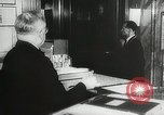 Image of introduction of Walkie Talkie in a hotel Vienna Austria, 1958, second 7 stock footage video 65675023637