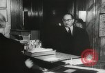 Image of introduction of Walkie Talkie in a hotel Vienna Austria, 1958, second 9 stock footage video 65675023637
