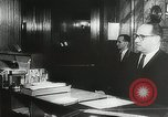 Image of introduction of Walkie Talkie in a hotel Vienna Austria, 1958, second 11 stock footage video 65675023637