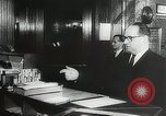 Image of introduction of Walkie Talkie in a hotel Vienna Austria, 1958, second 12 stock footage video 65675023637