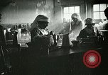 Image of Red Cross staff serve breakfast Nantes France, 1918, second 2 stock footage video 65675023649