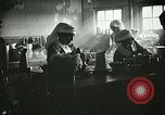 Image of Red Cross staff serve breakfast Nantes France, 1918, second 3 stock footage video 65675023649