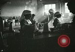 Image of Red Cross staff serve breakfast Nantes France, 1918, second 5 stock footage video 65675023649