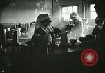 Image of Red Cross staff serve breakfast Nantes France, 1918, second 6 stock footage video 65675023649