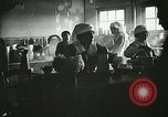 Image of Red Cross staff serve breakfast Nantes France, 1918, second 7 stock footage video 65675023649