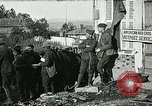 Image of Red Cross staff distribute hot chocolate to soldiers Chatel Chehery France, 1918, second 1 stock footage video 65675023650