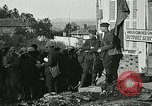 Image of Red Cross staff distribute hot chocolate to soldiers Chatel Chehery France, 1918, second 2 stock footage video 65675023650