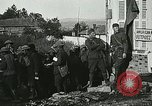 Image of Red Cross staff distribute hot chocolate to soldiers Chatel Chehery France, 1918, second 4 stock footage video 65675023650