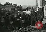 Image of Red Cross staff distribute hot chocolate to soldiers Chatel Chehery France, 1918, second 6 stock footage video 65675023650