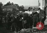 Image of Red Cross staff distribute hot chocolate to soldiers Chatel Chehery France, 1918, second 8 stock footage video 65675023650
