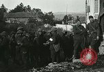Image of Red Cross staff distribute hot chocolate to soldiers Chatel Chehery France, 1918, second 10 stock footage video 65675023650