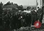 Image of Red Cross staff distribute hot chocolate to soldiers Chatel Chehery France, 1918, second 11 stock footage video 65675023650