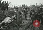 Image of Red Cross activists nurse US soldiers Fleville Chatel France, 1918, second 10 stock footage video 65675023653