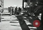 Image of V-2 Rocket White Sands New Mexico USA, 1947, second 1 stock footage video 65675023662