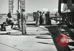 Image of V-2 Rocket White Sands New Mexico USA, 1947, second 7 stock footage video 65675023662