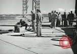 Image of V-2 Rocket White Sands New Mexico USA, 1947, second 10 stock footage video 65675023662
