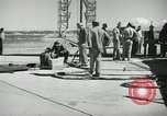 Image of V-2 Rocket White Sands New Mexico USA, 1947, second 11 stock footage video 65675023662