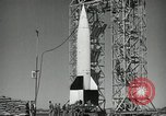 Image of V-2 Rocket launch White Sands New Mexico USA, 1947, second 9 stock footage video 65675023663