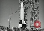 Image of V-2 Rocket launch White Sands New Mexico USA, 1947, second 11 stock footage video 65675023663