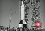 Image of V-2 Rocket launch White Sands New Mexico USA, 1947, second 12 stock footage video 65675023663