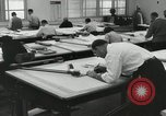 Image of Draftsmen working Pasadena California USA, 1958, second 6 stock footage video 65675023668