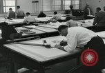 Image of Draftsmen working Pasadena California USA, 1958, second 7 stock footage video 65675023668