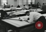 Image of Draftsmen working Pasadena California USA, 1958, second 8 stock footage video 65675023668
