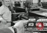 Image of rolling metal piece Pasadena California USA, 1958, second 3 stock footage video 65675023670