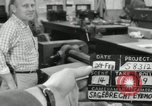 Image of rolling metal piece Pasadena California USA, 1958, second 5 stock footage video 65675023670